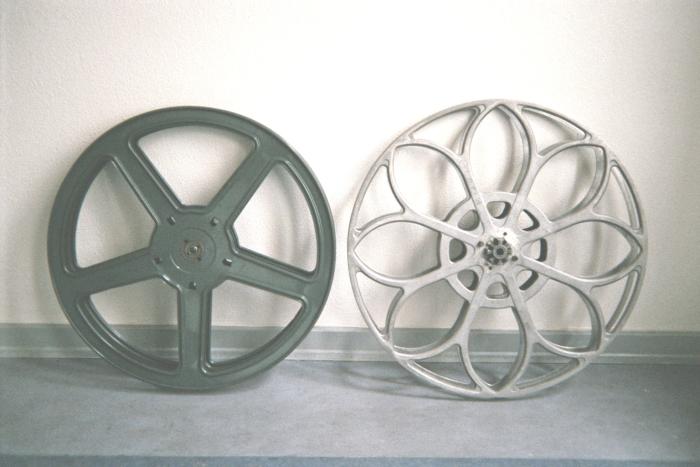 35mm-Filmspulen von Bauer und Philips