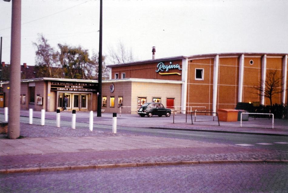 Regina-Eingang 1982