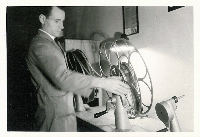 70mm-Film umspulen
