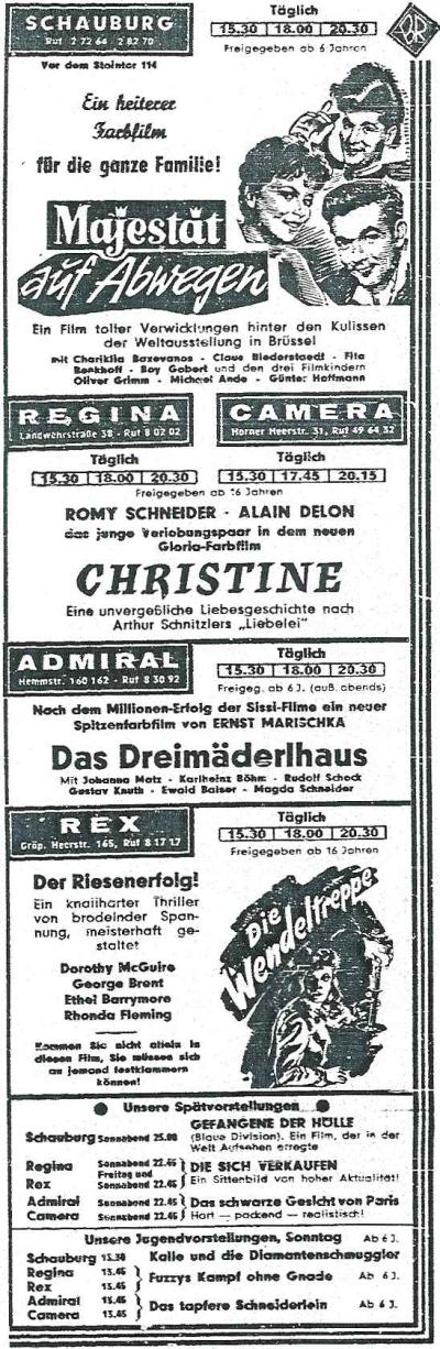 regina-werbung 1959