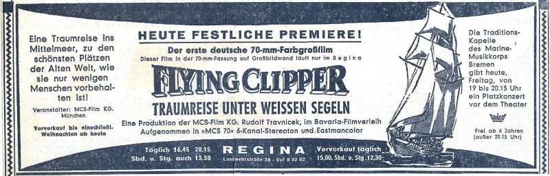 annonce flying clipper